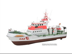 Premium Line - Bernhard Gruben Rescue Boat Scale Model Kit