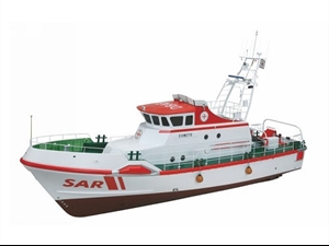 Premium Line - Eiswette Rescue Cruiser Scale Model Boat Kit