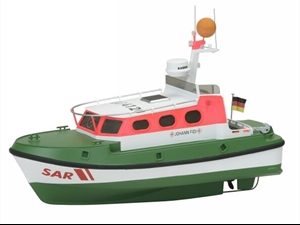 Premium Line - Johann Fidi Scale Model Boat Kit