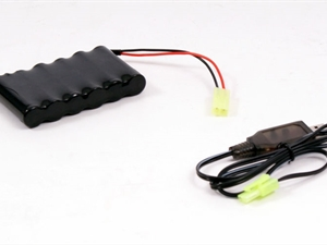 BSD 7.2V 800mAh Battery and USB Charger (Rock Crawler)