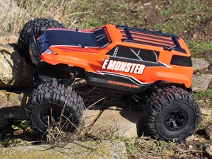 Century UK BSD Racing E Monster Rock Crawler