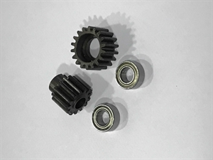 BSD Baja/Storm V2/V3 Upgrade Metal Idler and Pinion Gear