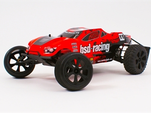 BSD Prime Storm V3, V2 Retro Colour Scheme 1/10th Truggy RTR
