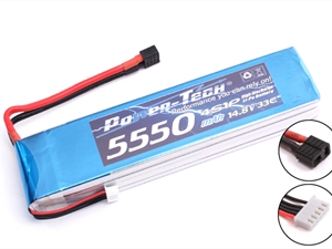 Century UK Power-Tech 5550 33c 4s 14.8v Li-Po battery