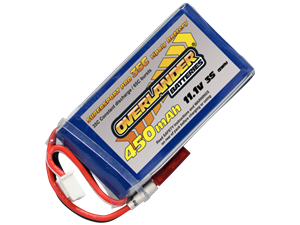 Overlander 450mAh 11.1v 35c LiPo Battery - Supersport