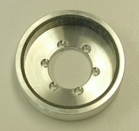 Machined Clutch Bell, Silver