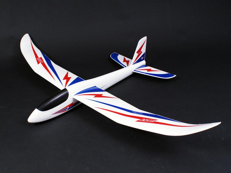 The Bolt Hand Launch Glider - Sticker version