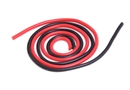 Century UK KDS 500mm Silica Wire 14AWG 2.5mm, Red And Black
