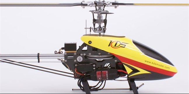 KDS 450 Q Helicopter Complete (CNC & Carbon Version)