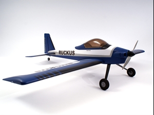 Max Thrust Ruckus Airframe- Blue (no electronics)