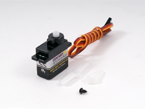 Max-Thrust Riot / Ruckus 9g Servo (Orange Lead, Aileron)