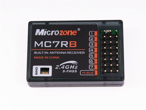 Microzone MC7RB receiver