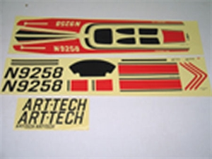 Century UK Cessna Stickers (Red)