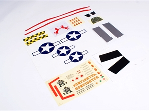 Century UK Art-Tech P51 Epo Sticker Set