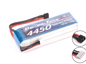 Century UK Power-Tech 4450mAh 33C 4S 14.8V Li-Po Battery
