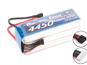 Century UK Power-Tech 4450mAh 33C 6S 22.2V Li-Po Battery