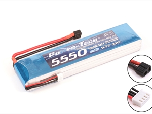 Century UK Power-Tech 5550mAh 33C 3S 11.1V Li-Po Battery