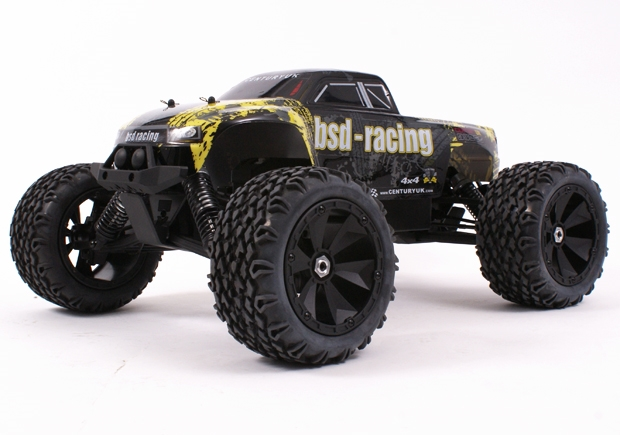 Century UK BSD Racing Flux Marauder 8th Scale Brushless Monster Truck