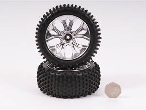 Century UK BSD Racing Wheel And Tyre Chrome