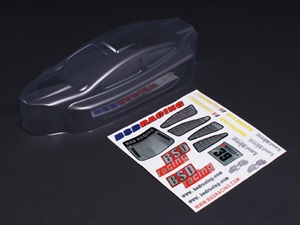 Century UK BSD Racing Clear Body Shell