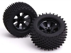 Century UK BSD Racing Radio Control Spare Parts Black Wheel And Tire
