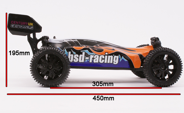 Century UK BSD Racing Prime Assault