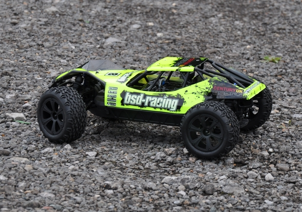 Century UK BSD Racing Flux Desert Assault