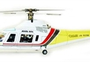 Century UK Agusta 109A 50 Fuselage (Painted Yellow)