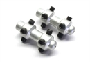 Century UK 2mm Drive Shaft Couplers (2Pcs)