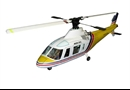 Agusta 109 Painted Body With Mechanics