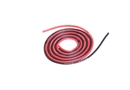 Century UK KDS 500mm Silica Wire 20AWG 0.75mm, Red And Black