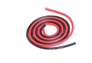 Century UK KDS 500mm Silica Wire 16AWG 2mm, Red And Black