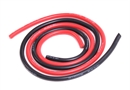 Century UK KDS 500mm Silica Wire 12AWG 4mm, Red And Black