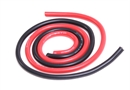 Century UK KDS 500 mm Silica Wire 10AWG 6mm, Red And Black