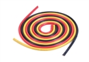 Century UK KDS 1000mm Silica Wire 10AWG 6MM Red, Black And Yellow
