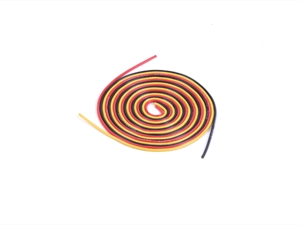KDS 1000MM Silica Wire 20AWG 0.75MM Red, Black And Yellow