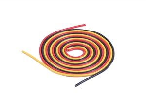 Century UK KDS 1000 Silica Wire 16AWG 2MM Red, Black And Yellow