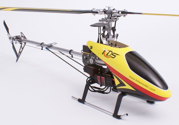 Century UK KDS 450 Q Radio Control Helicopter