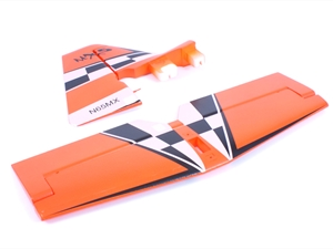 Century UK Max-Thrust MX2 Horizontal And Vertical Fins Orange