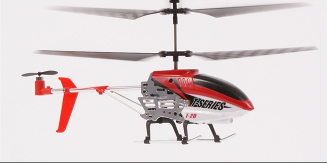 MJX T20 Micro Helicopter Complete (RED)