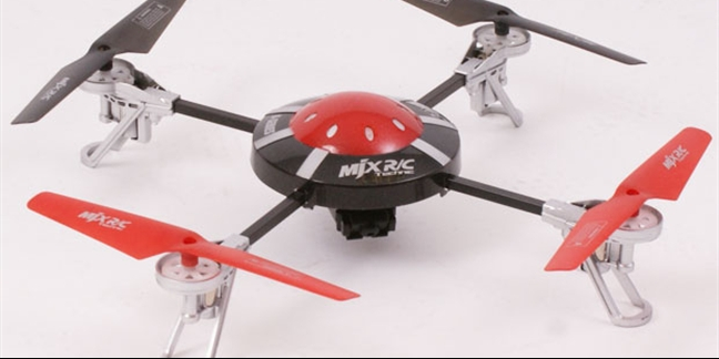 MJX X200 3-axis Gyro Mini Quadcopter (4 Ch) With Camera Pack