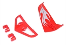 Century UK Syma S031 Tail Fin Set Red