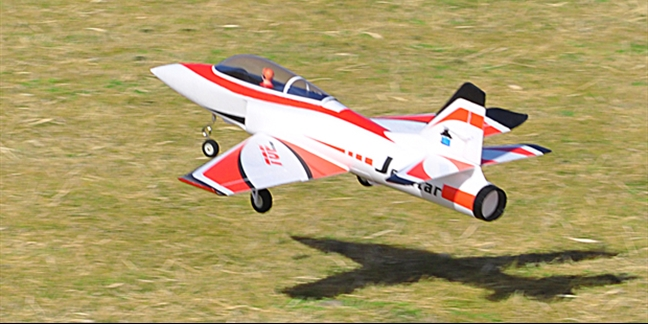 Top RC Hobby Jet Star PNP RED Scheme